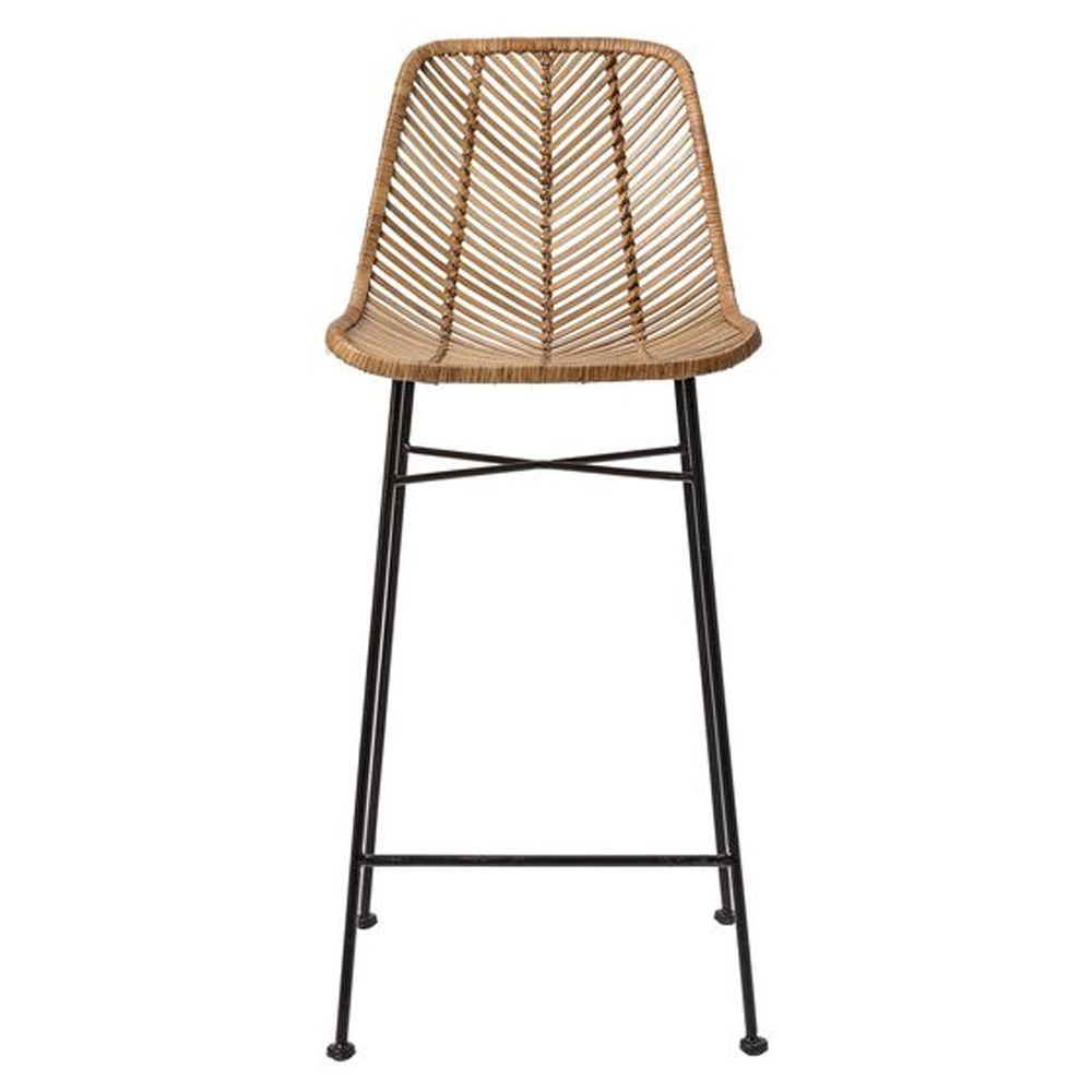 Bloomingville Natural Rattan Bar Stool