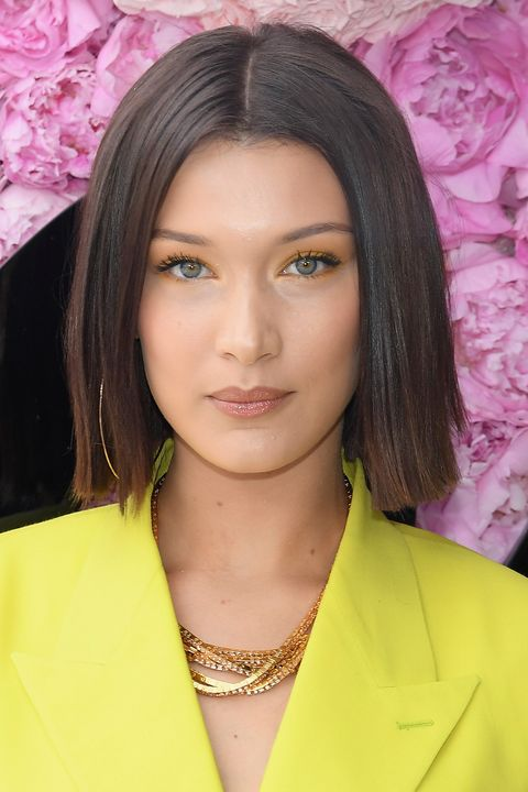 Bella Hadid Cuts Her Hair