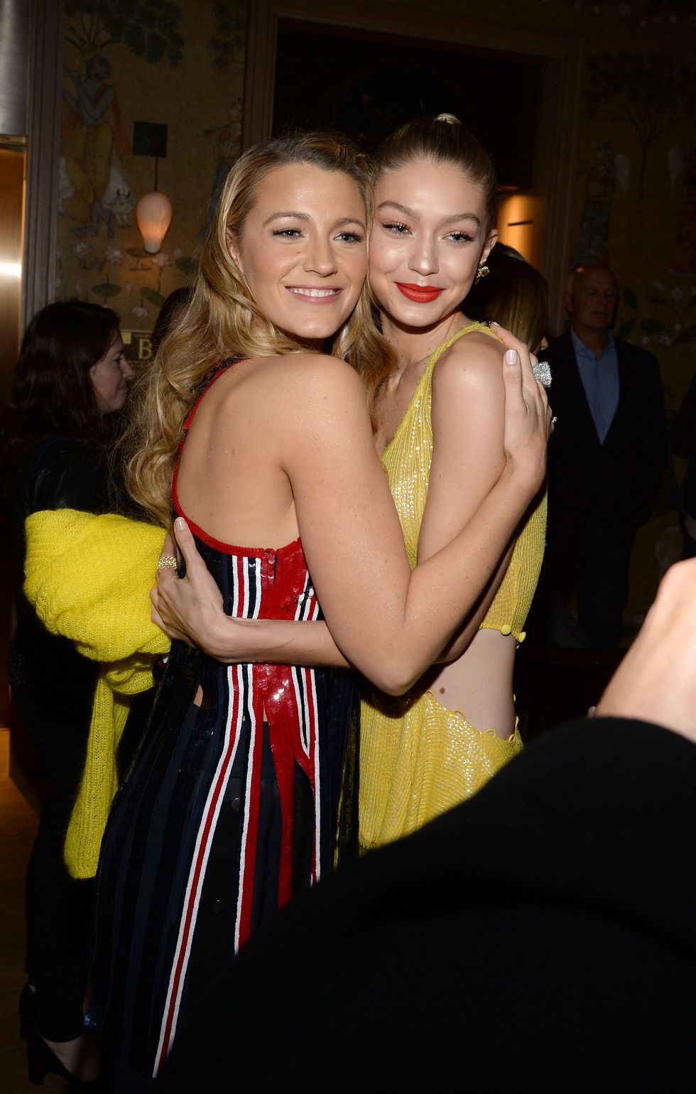 Gigi Hadid and Blake Lively Sat Down for a Candid