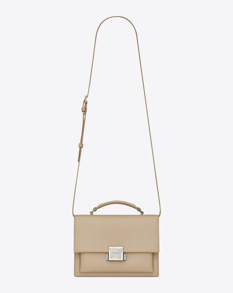 Bag, Handbag, Product, Beige, Shoulder bag, Fashion accessory, Satchel, Leather,
