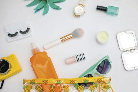 bodegón productos de belleza