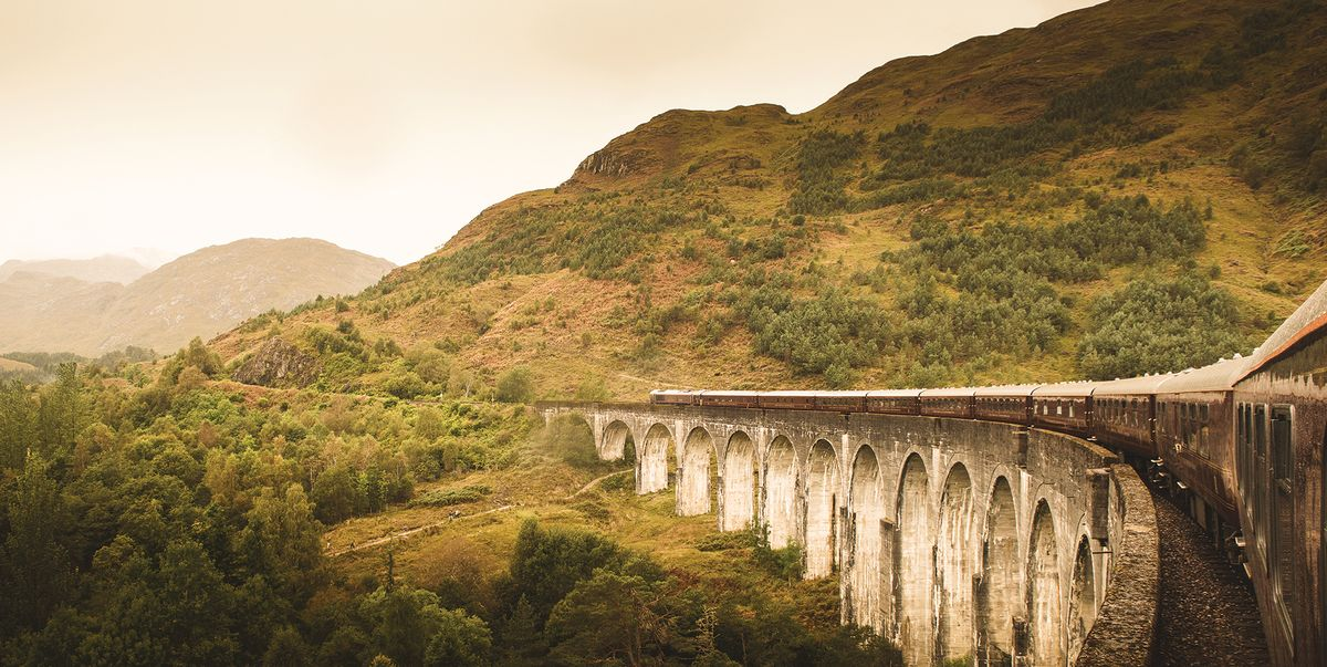 See the Scottish Highlands in the most iconic way with a ride on the luxurious Royal Scotsman