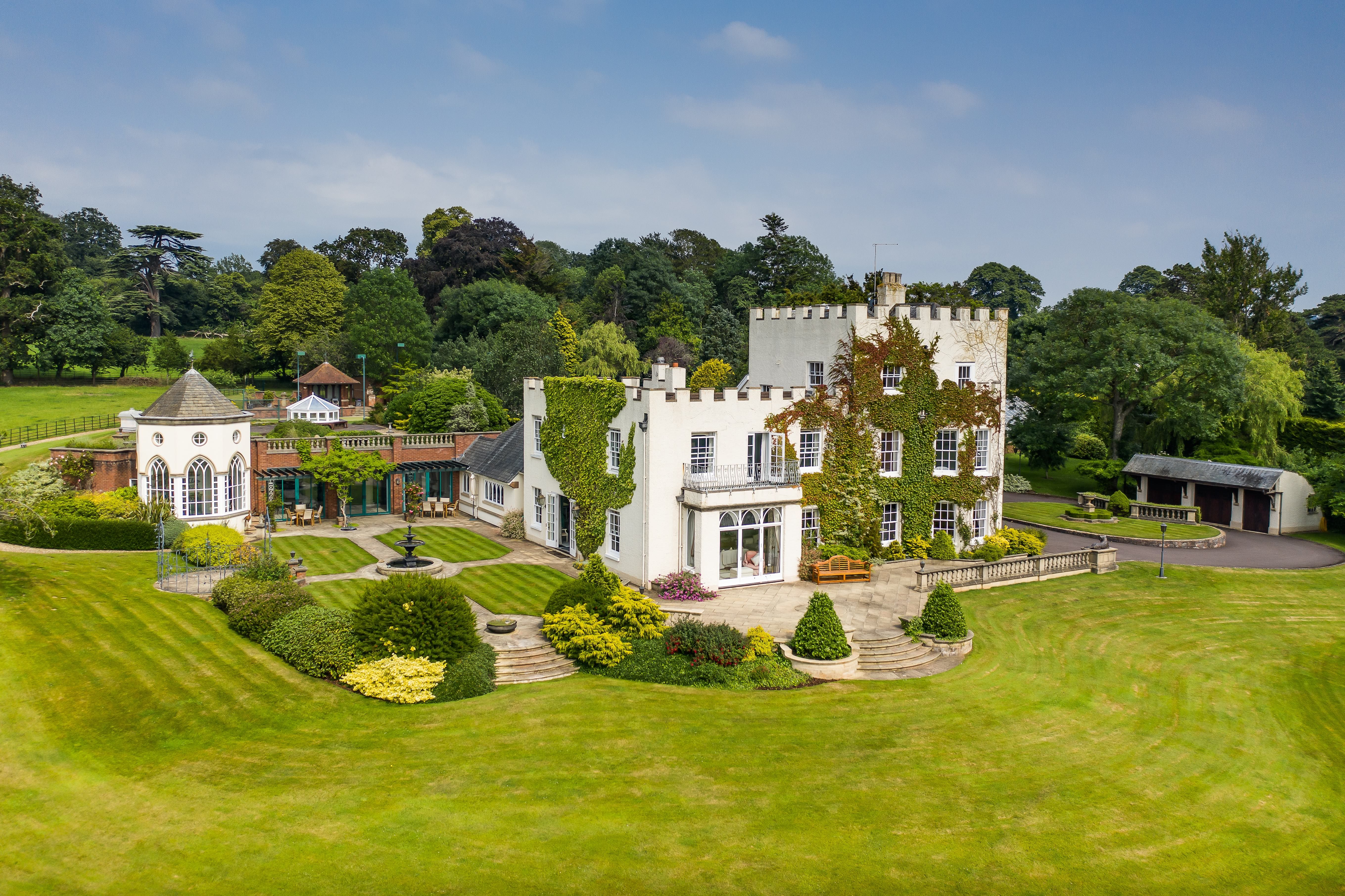 A majestic Grade-II listed property located on Devon's waterfront