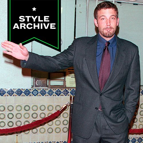 When Ben Affleck Dressed Like Hollywood's Bouncer