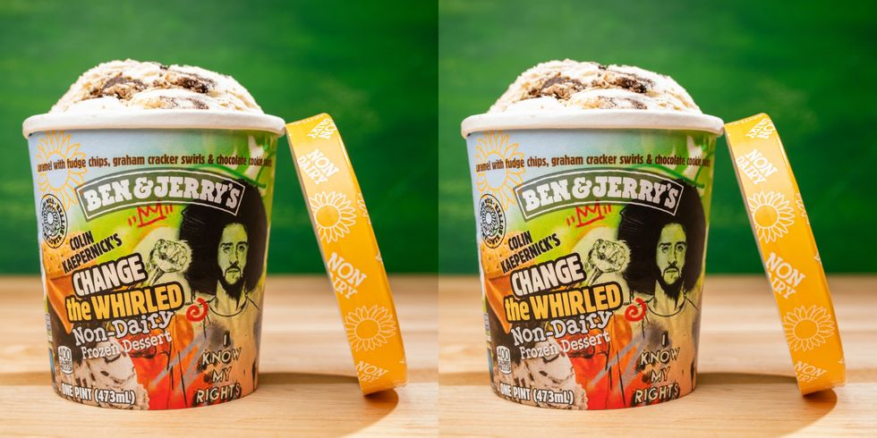 Ben & Jerry's Is Releasing a New Flavor Inspired by Colin Kaepernick Called 'Change The Whirled'