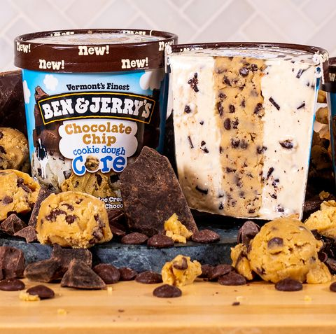 Ben and Jerry's New Cookie Dough Core Ice Cream Flavors