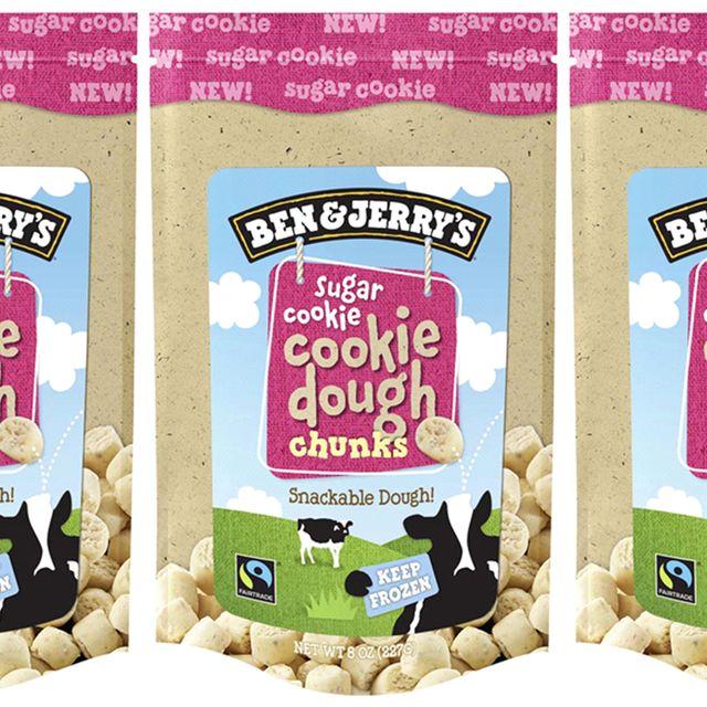 ben  jerry's sugar cookie dough chunks