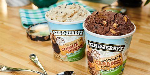 Food, Ice cream, Gelato, Frozen dessert, Chocolate ice cream, Dish, Ingredient, Cuisine, Dessert, Dairy,