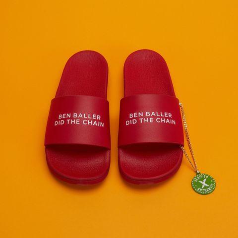 8a04ea98bcf0 StockX Ben Baller Straye Slides Sandals Auction