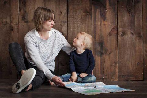 moeder, social media, online, actief
