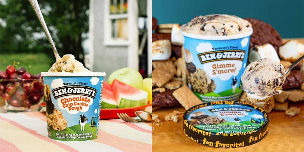 Ben & Jerry's say we should store ice cream tubs upside down
