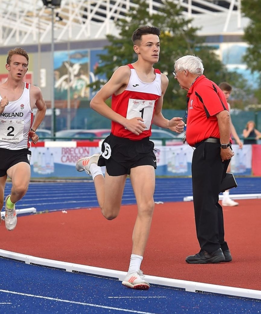 16-year-old runner breaks 42-year-old Welsh 1500m record