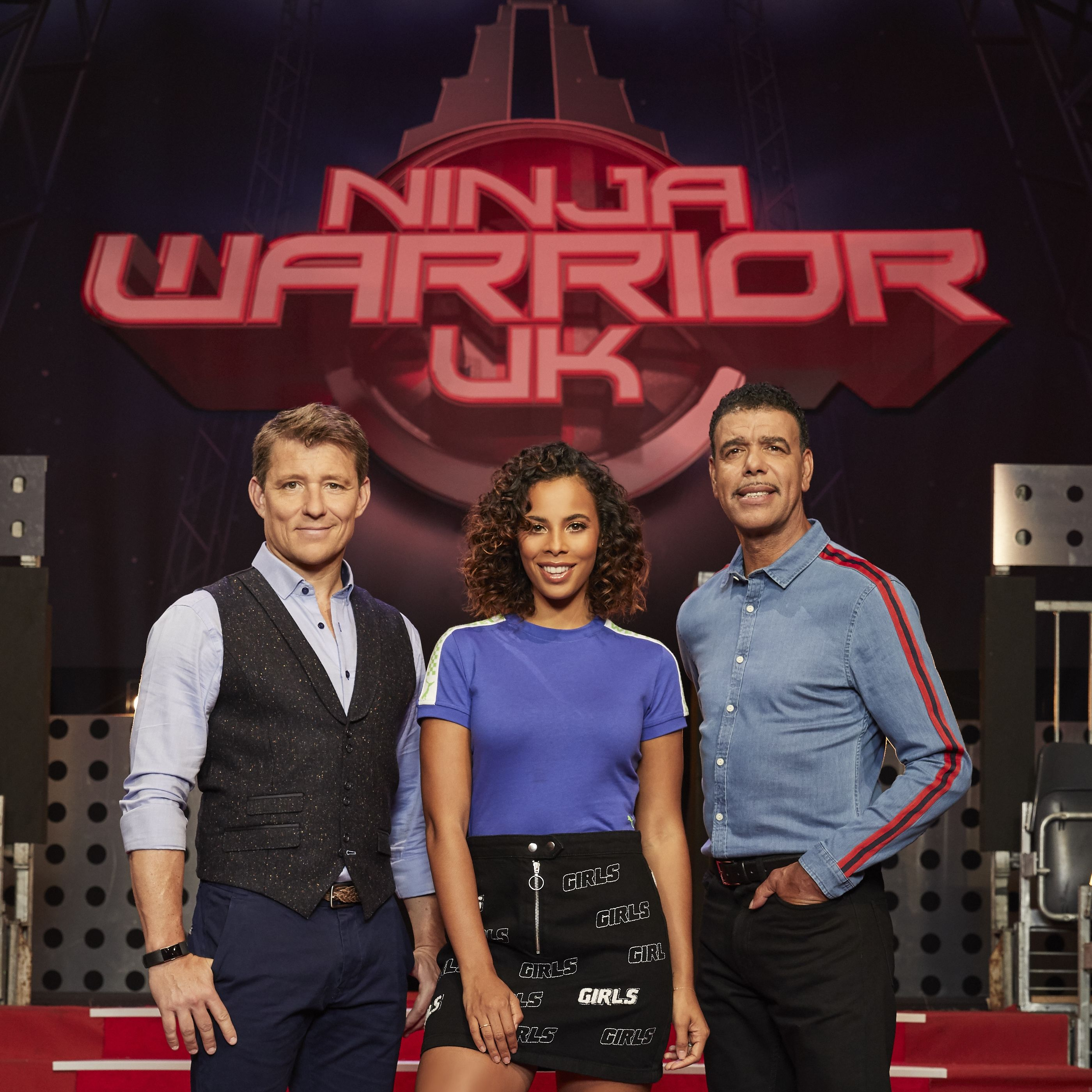 Exclusive: Rochelle Humes and Ben Shephard defend Ninja Warrior UK for pushing people too hard