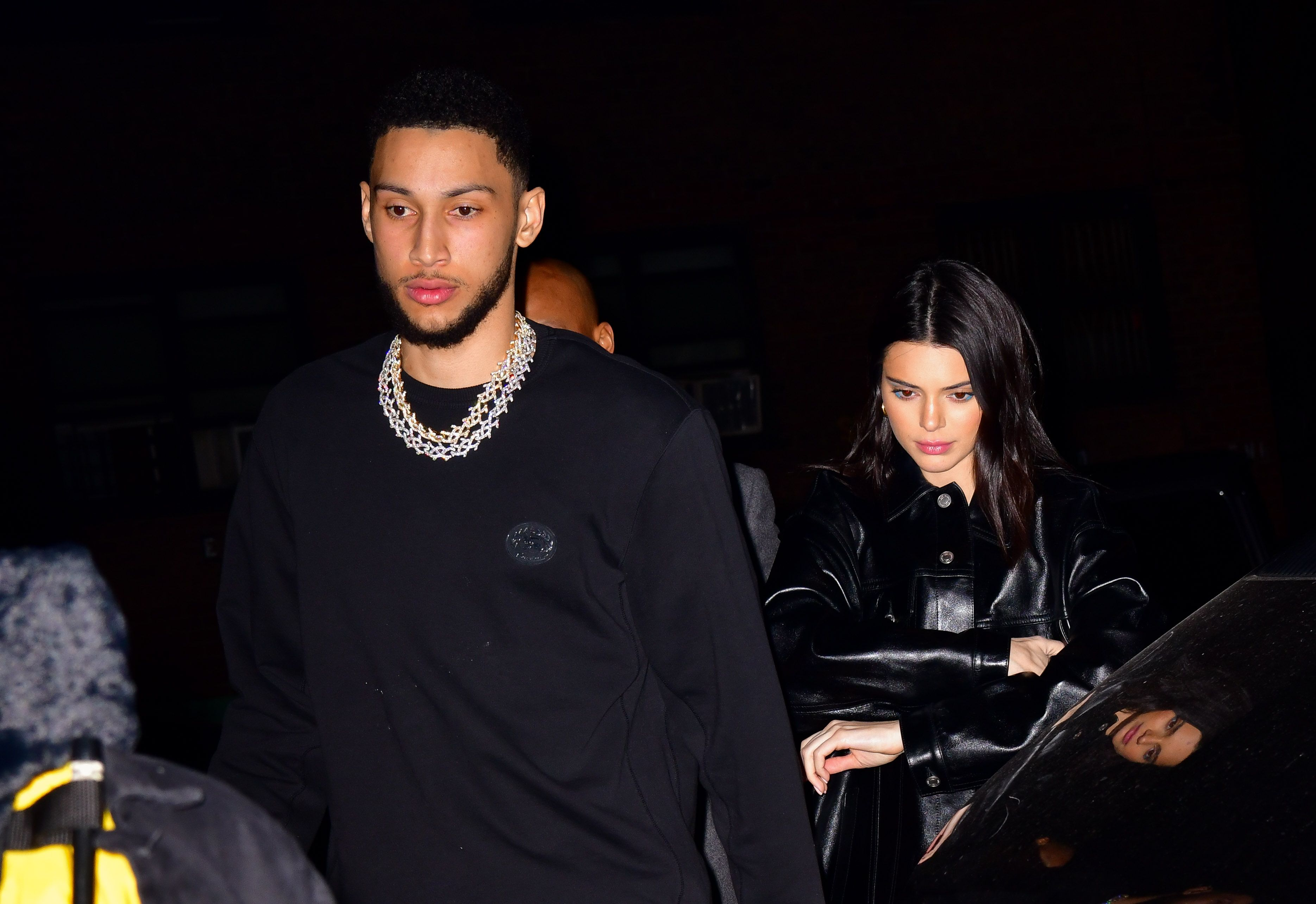 Kendall Jenner And Ben Simmons Had A Rare Public Date With Actual Hand Holding For Valentines Day