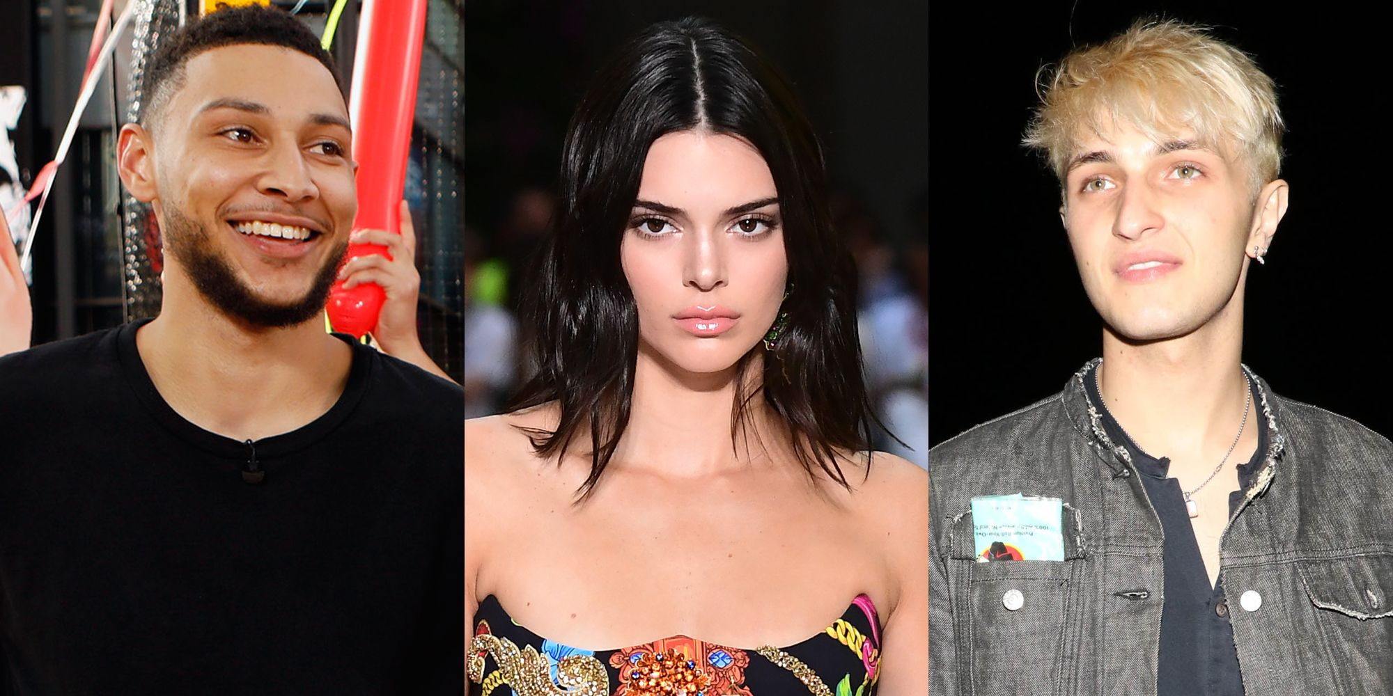 Kendall Jenner Parties With Ben Simmons Kendall Makeout Buddy Anwar Hadid Kisses Sonia Ben Ammar