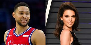 Ben Simmons and Kendall Jenner
