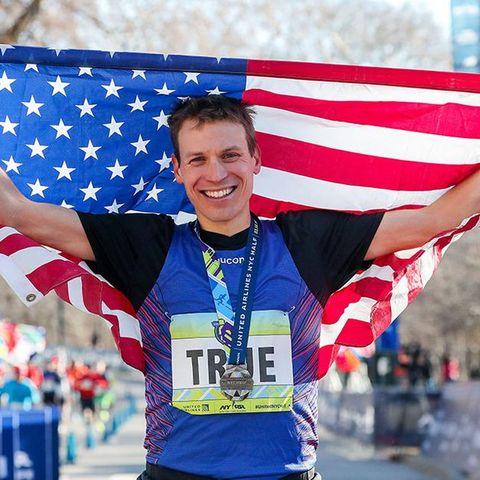 Marathon, Running, Long-distance running, Half marathon, Recreation, Athletics, Flag, Athlete, Individual sports, Exercise,