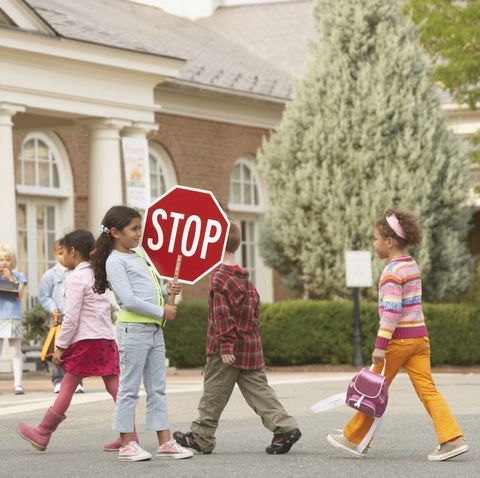 Beneficios de andar para los niños
