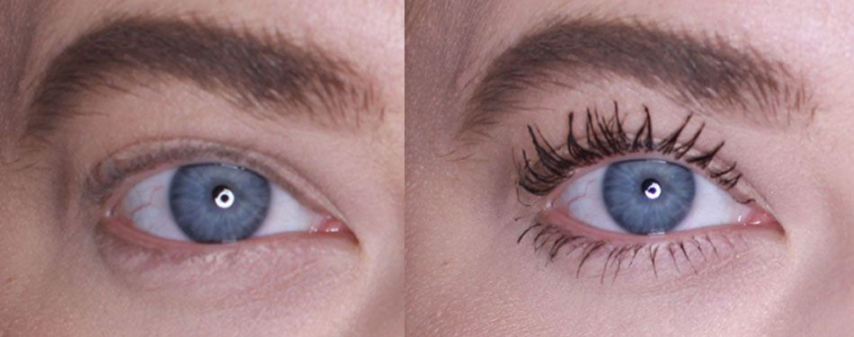 a5e72d4863b We review Benefit's Bad Gal Bang Mascara - Before & after pictures