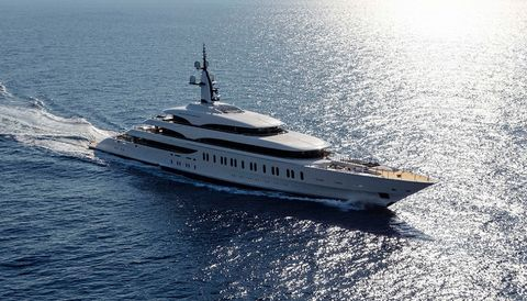 the gigayachts of the monaco yacht show