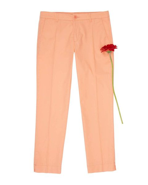 Clothing, Trousers, Active pants, Orange, sweatpant, Sportswear, Peach, Pocket, Pajamas,