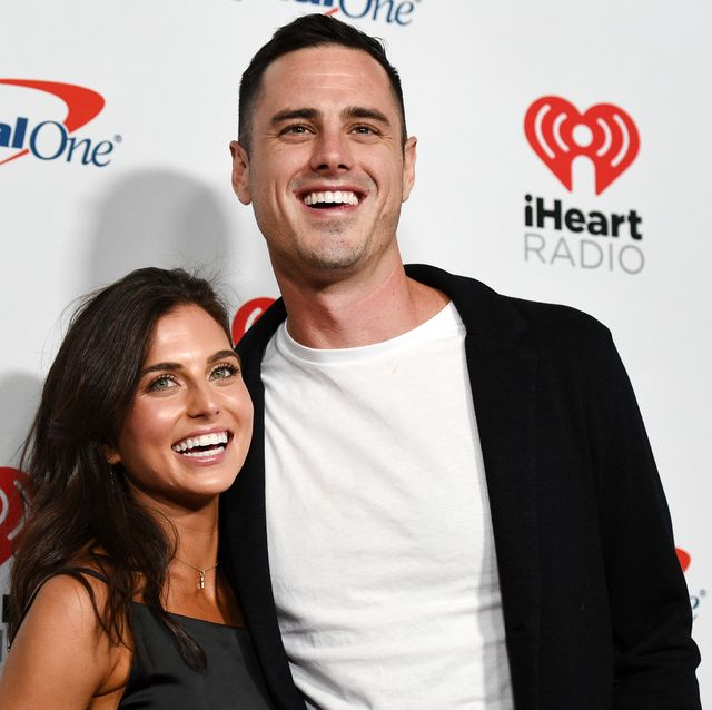 ben higgins jessica clarke las vegas, nevada   september 20 editorial use only l r jessica clarke and ben higgins attend the 2019 iheartradio music festival at t mobile arena on september 20, 2019 in las vegas, nevada photo by david beckergetty images for iheartmedia