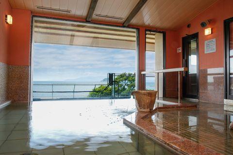 旅館 紅鮎 大浴場「冨上」