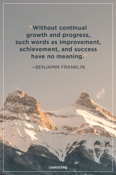 benjamin franklin success quote