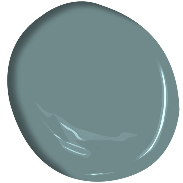 benjamin moore has announced aegean teal as it's colour of the year for 2021
