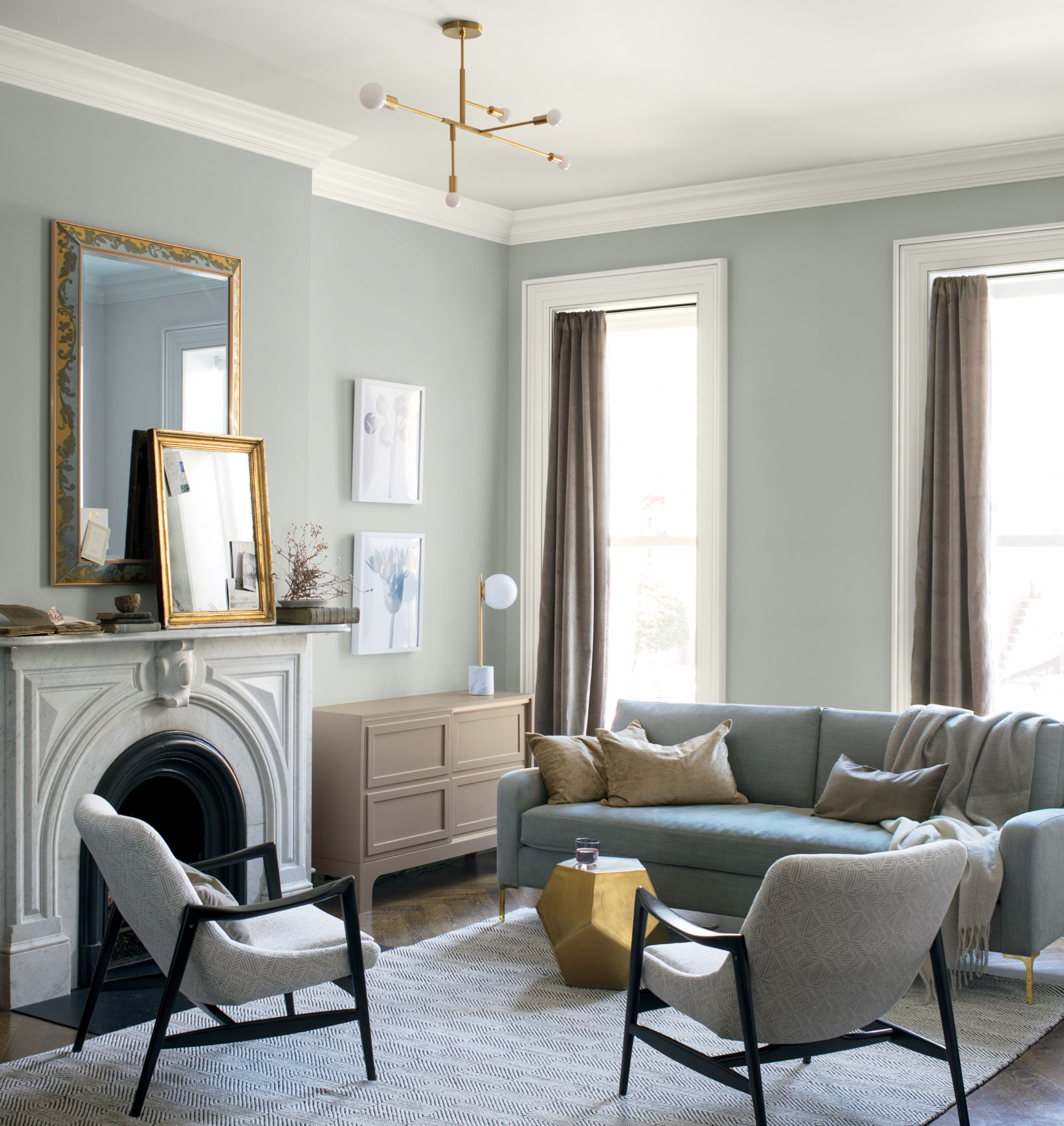 benjamin moore 2019 color of the year & Room Color Ideas - Decorate with Color