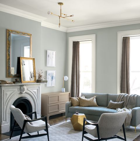 Phenomenal Benjamin Moore 2019 Color Of The Year Metropolitan Af 690 Interior Design Ideas Inamawefileorg