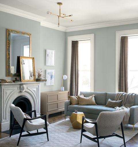 Feel A Brand New Kitchen With These Popular Paint Colors: Benjamin Moore's Colour Of The Year 2019 Is Metropolitan