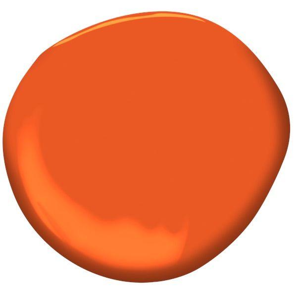 15 Best Orange Paint Colors For Your Home Orange Room