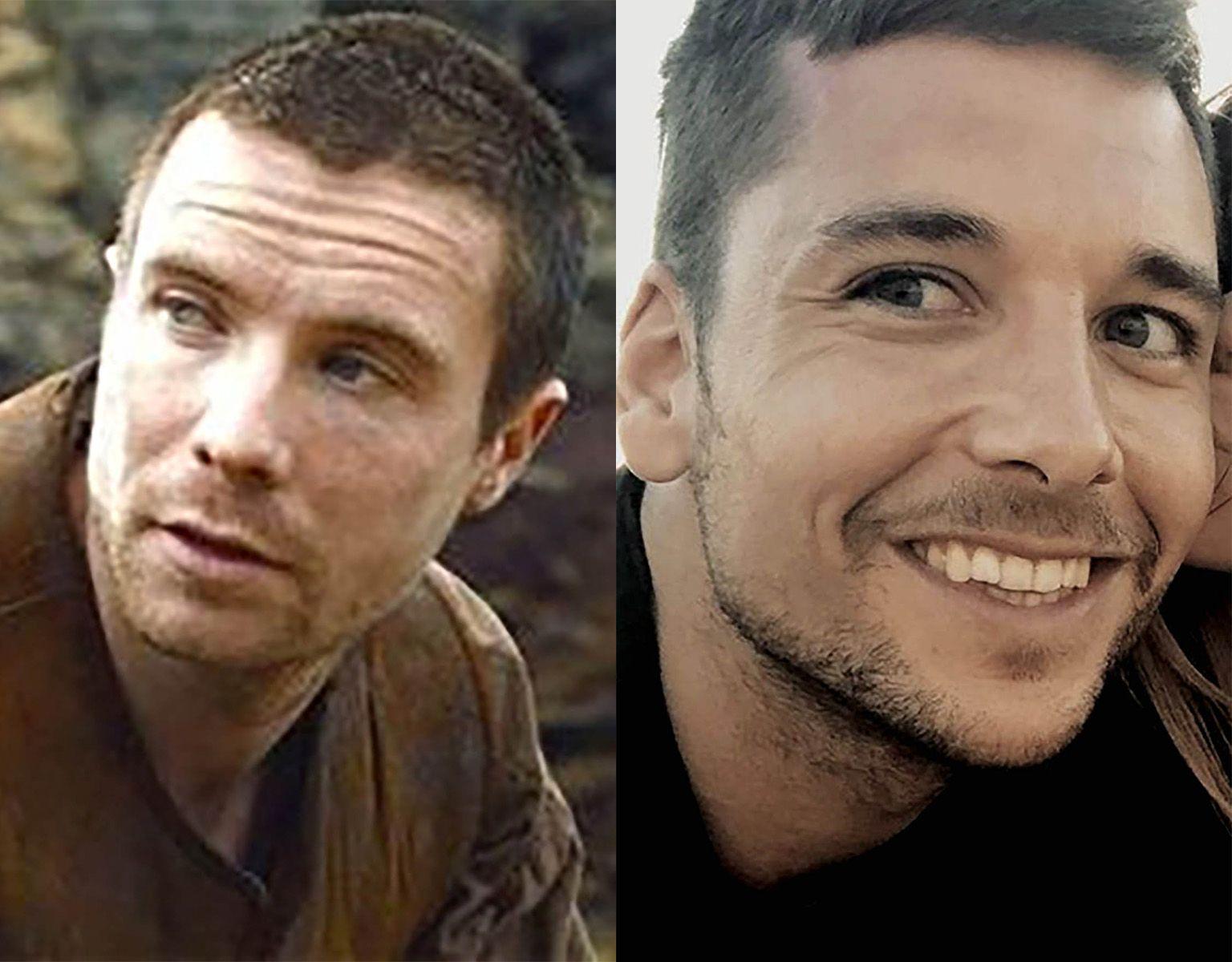 Benji Aparicio y Gendry, de Juego de Tronos: parecidos razonables de famosos