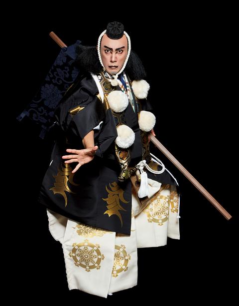 操上和美氏が新たに撮り下ろした『勧進帳』の武蔵坊弁慶