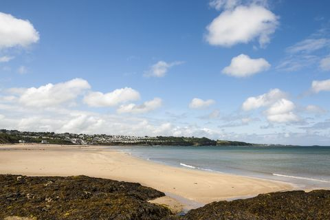 Benllech beach on the island of Anglesey in North Wales