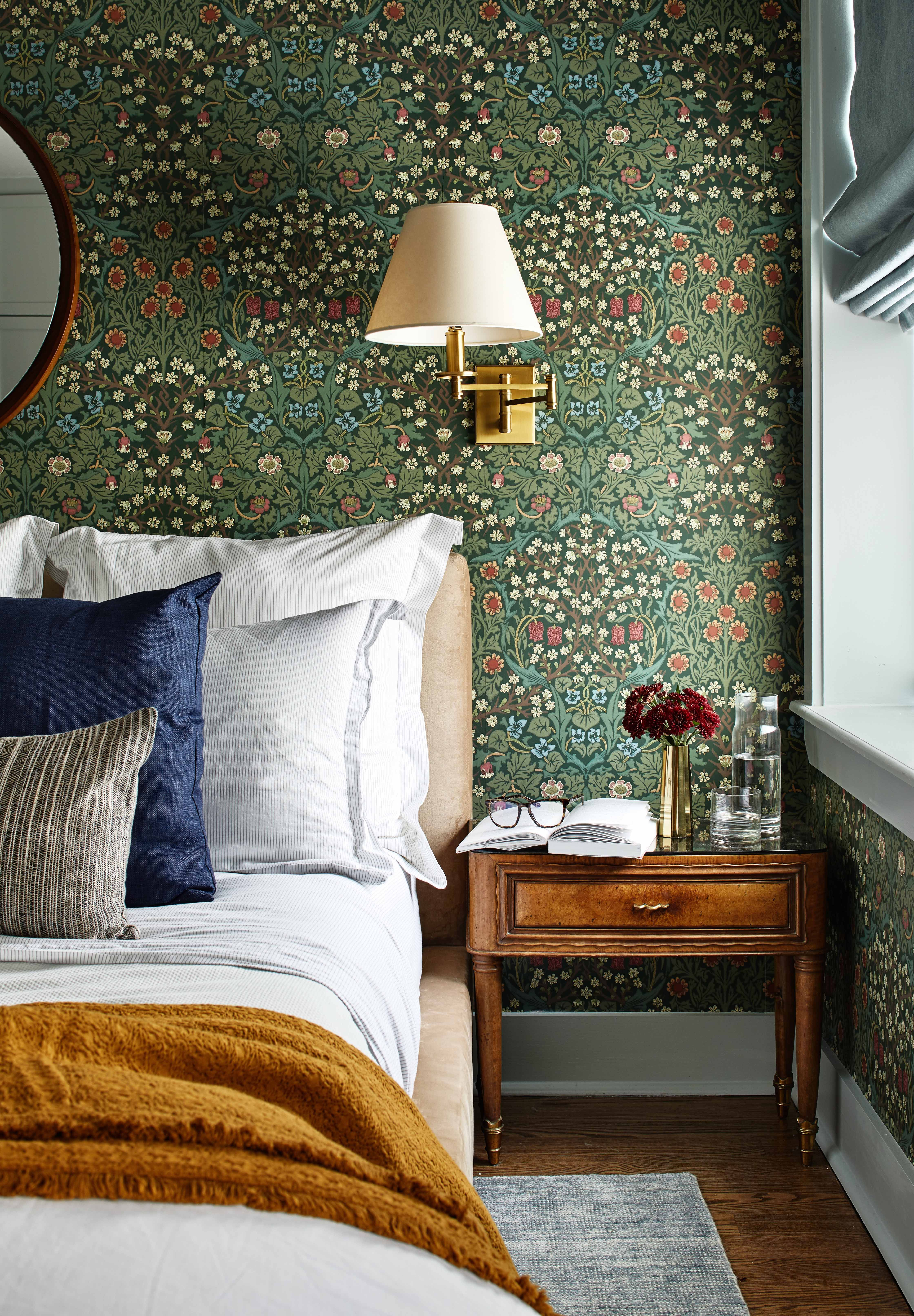 11 Bedroom Wallpaper Ideas - Statement Wallpapers We Love