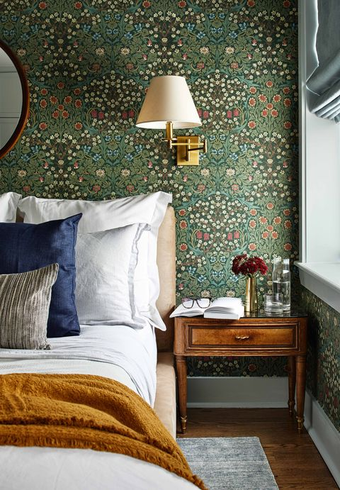 34 Bedroom Wallpaper Ideas - Statement Wallpapers We Love