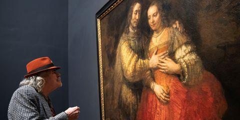 Painting, Art, Museum, Tourist attraction, Art gallery, Visual arts, Modern art, Portrait, Artwork,