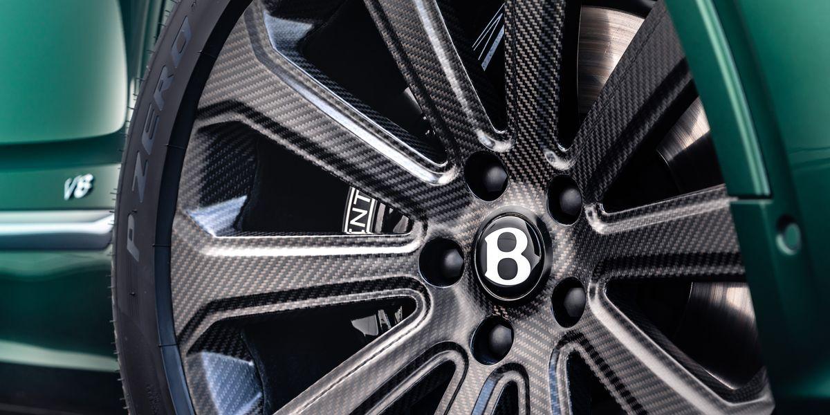Bentley Bentayga Gets Special 22-Inch Carbon-Fiber Wheels