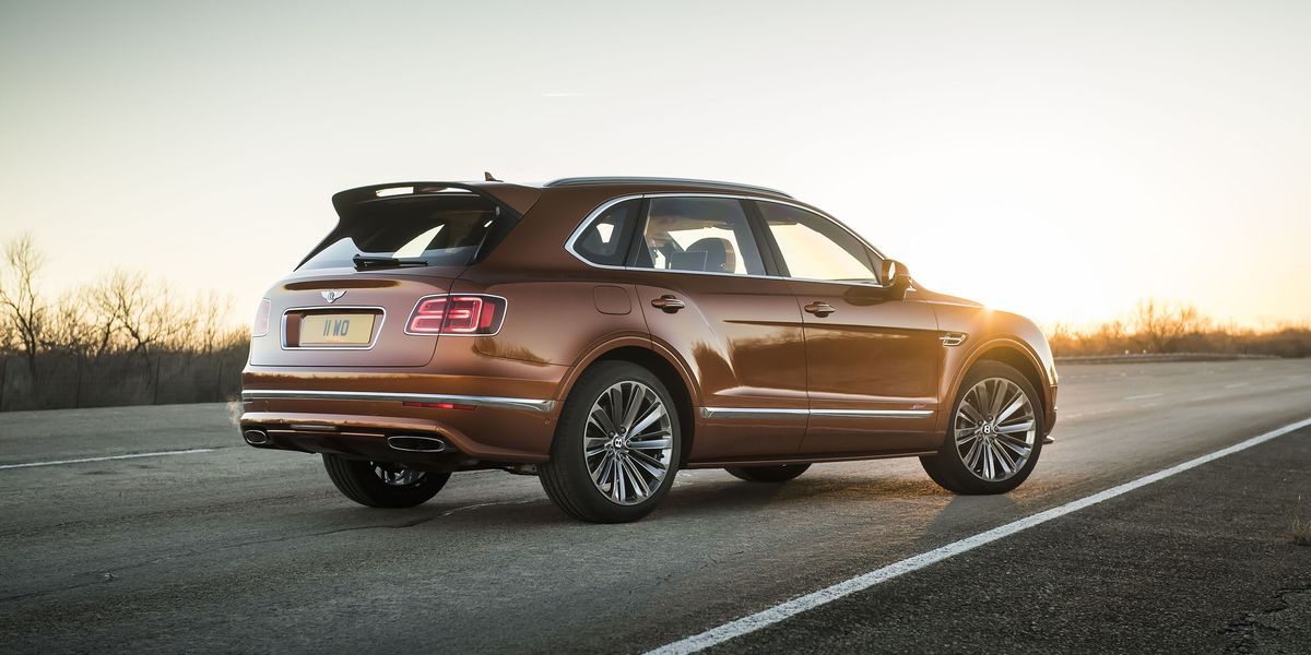 Lamborghini Los Angeles >> 2020 Bentley Bentayga Speed Is the World's Fastest SUV