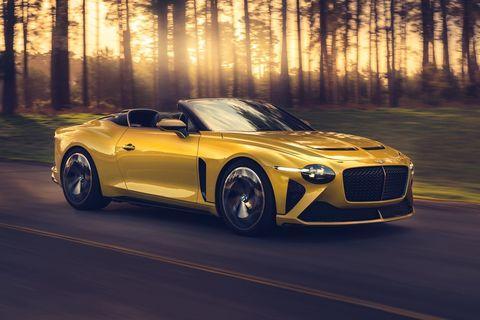 Land vehicle, Vehicle, Car, Motor vehicle, Automotive design, Performance car, Luxury vehicle, Yellow, Sports car, Supercar,