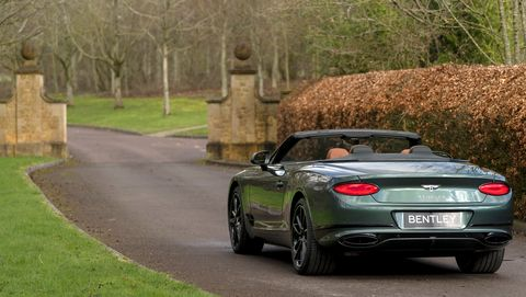 Bentley Continental GT Convertible Equestrian Edition