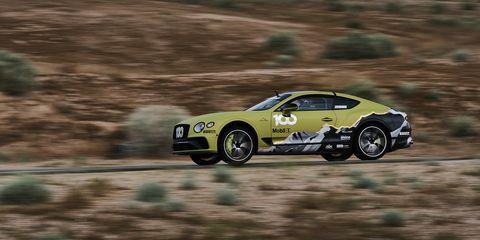 Bentley Continental GT Pikes Peak record car