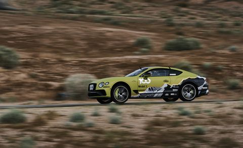 Bentley Continental GT Pikes Peak record car