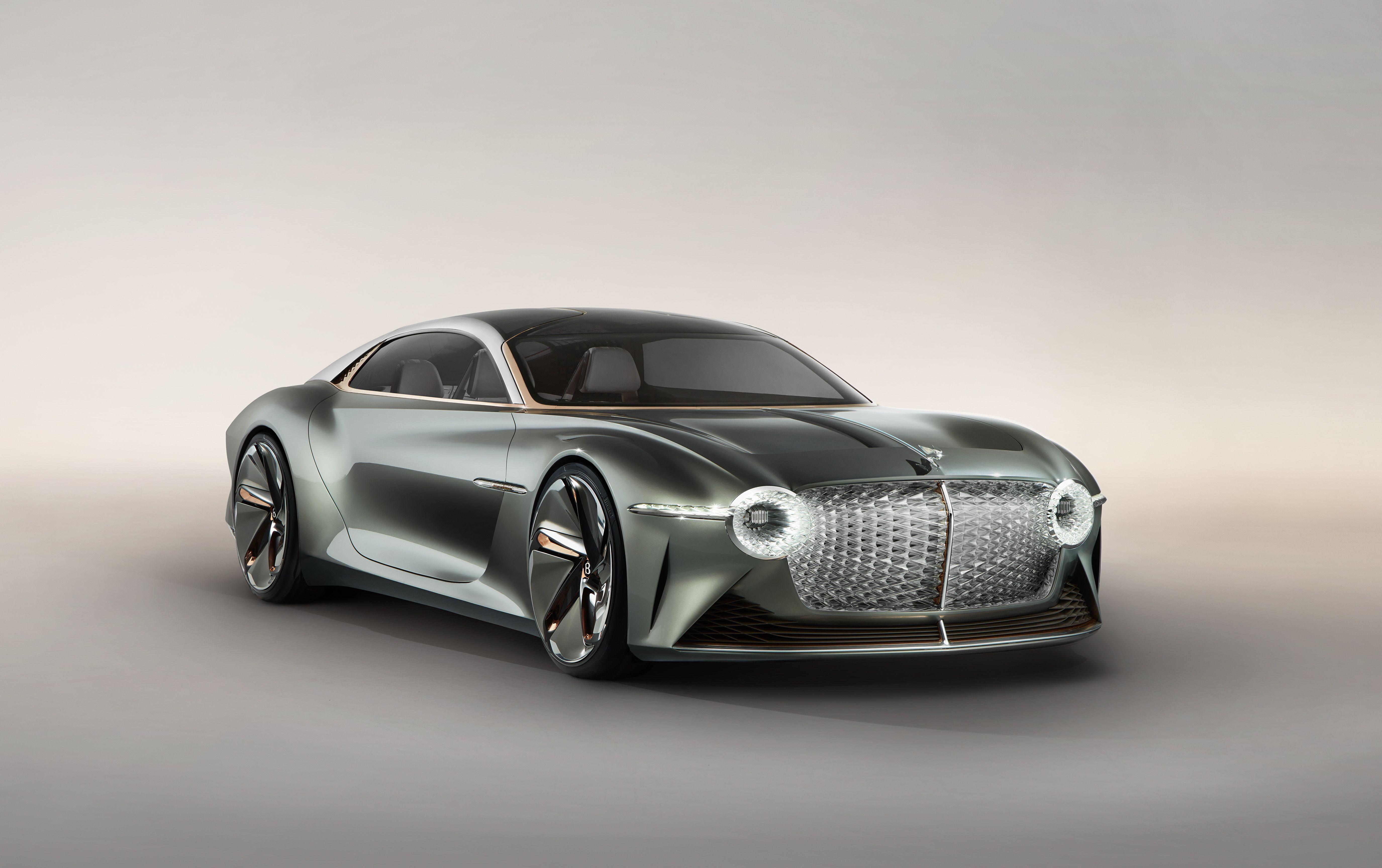 Bentley Exp 100 Gt Concept Car Luxury Electric Vehicle