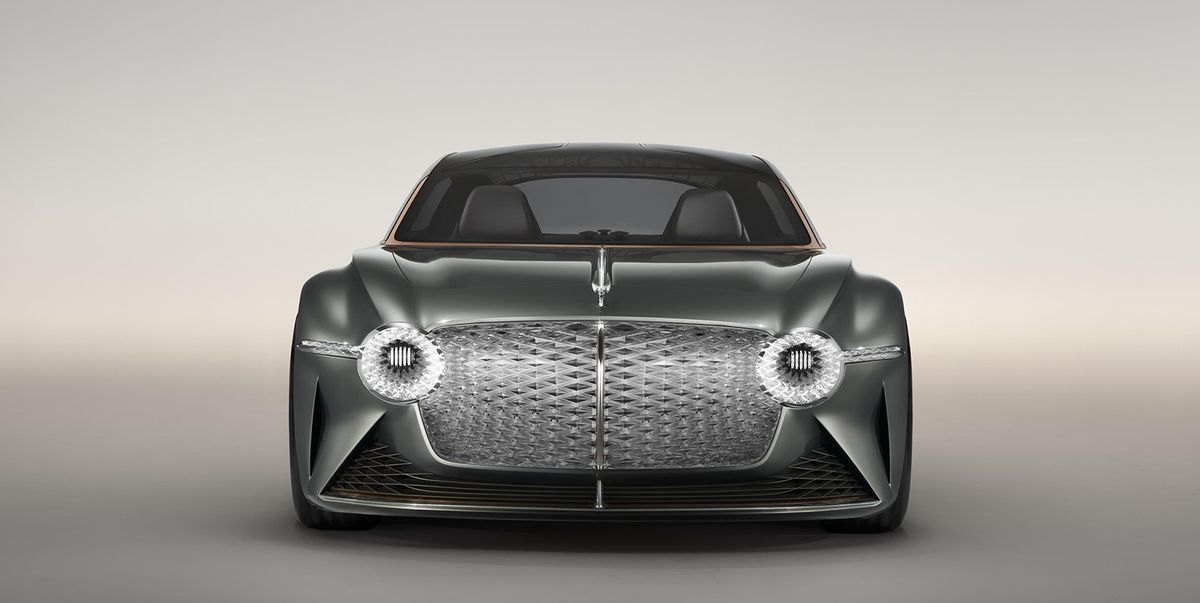 Bentley's first battery-electric model will be a high-riding sedan, Adrian Hallmark says