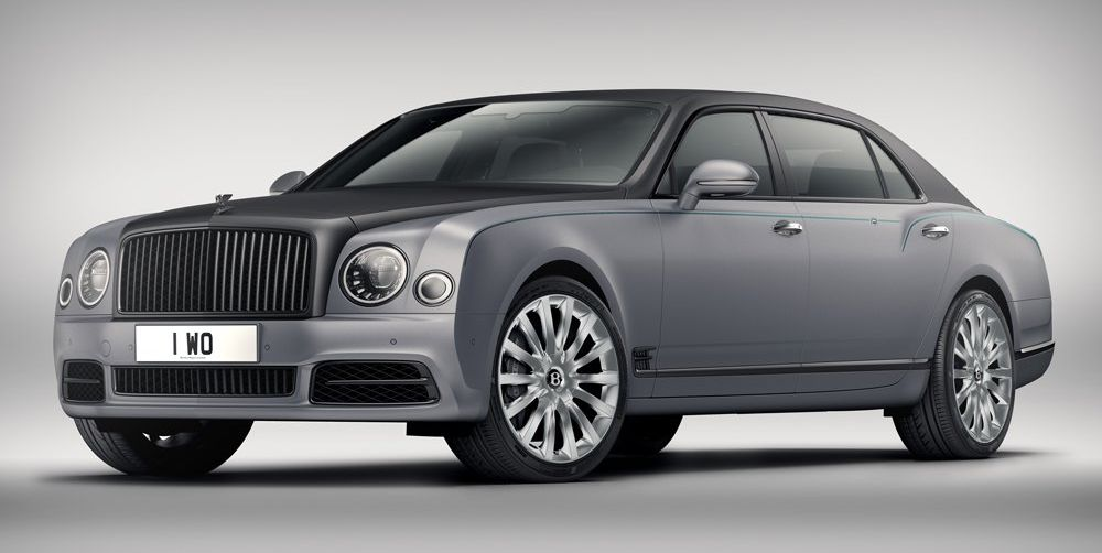 Bentley million-dollar exterior