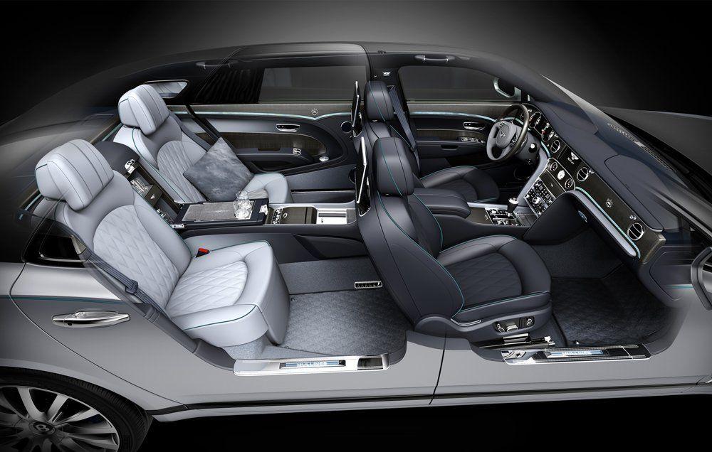 Bentley's million-dollar interior