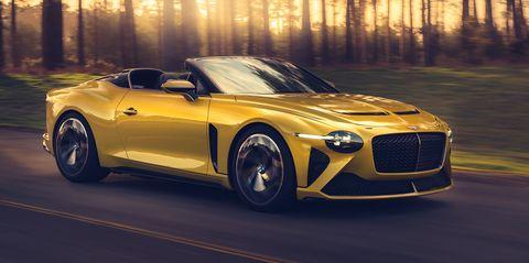 Land vehicle, Vehicle, Car, Automotive design, Yellow, Performance car, Sports car, Convertible, Luxury vehicle, Supercar,